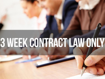 3-week-real-estate-contract-law-only