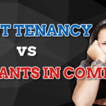 joint tenancy and tenants in commom