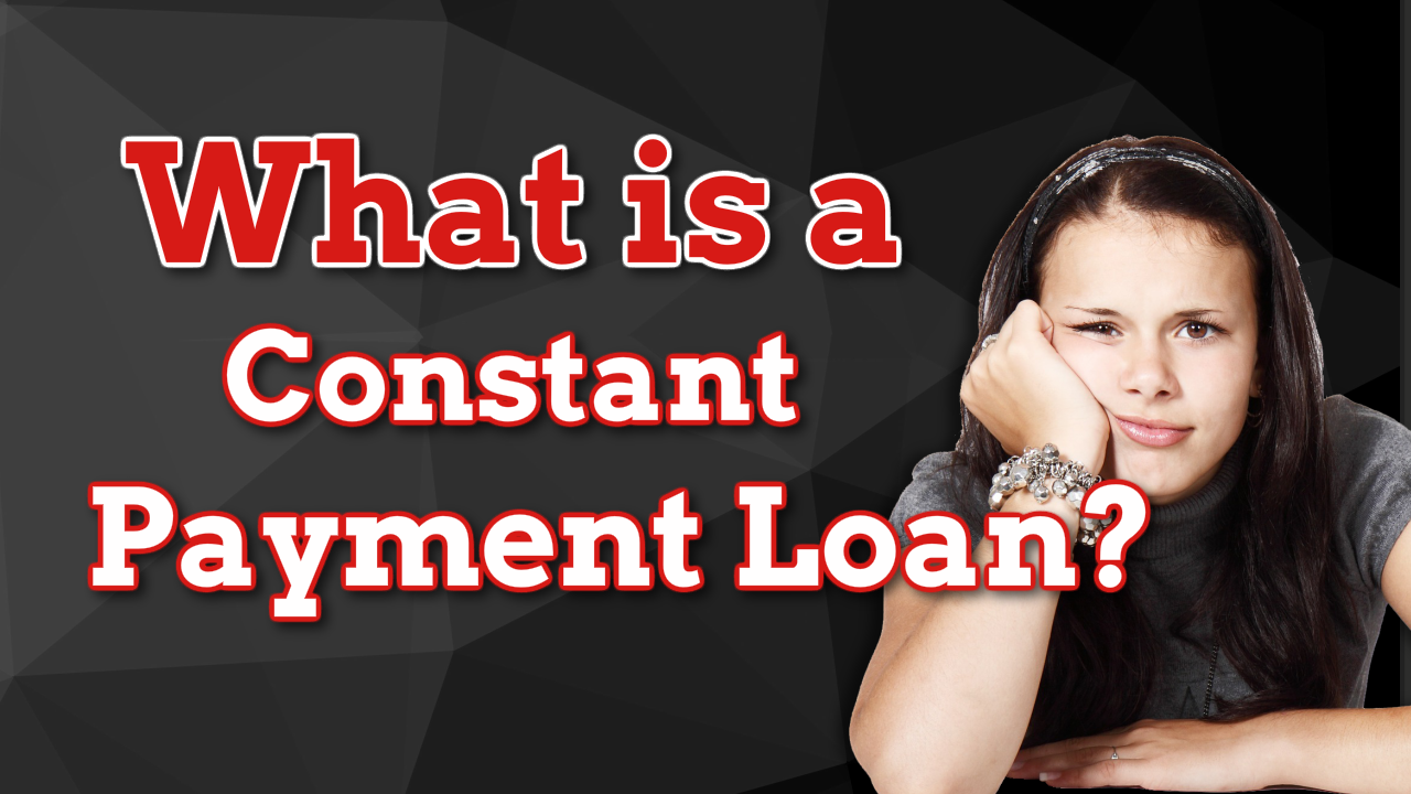 real estate math constant payment mortgages